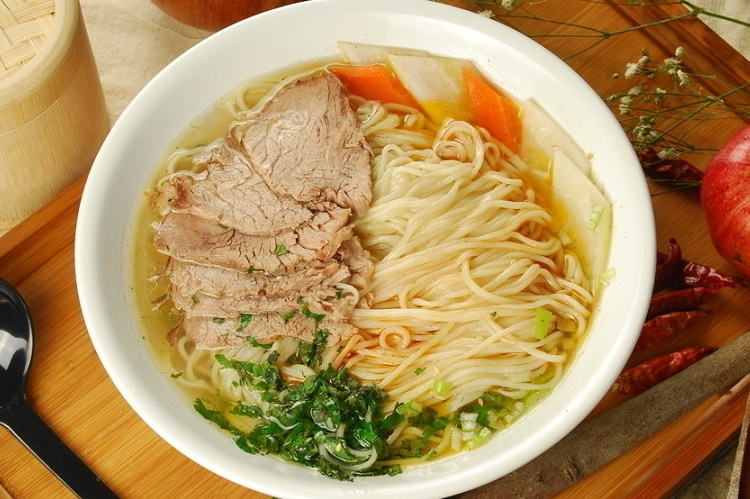Lanzhou Beef Soup Noodles